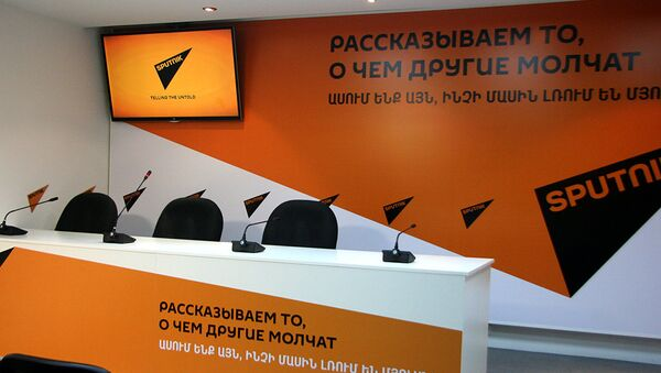 Международный пресс-центр Sputnik-Армения - Sputnik Արմենիա
