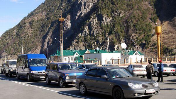Автомобильный пункт пропуска Верхний Ларс открылся на грузино-российской границе - Sputnik Армения