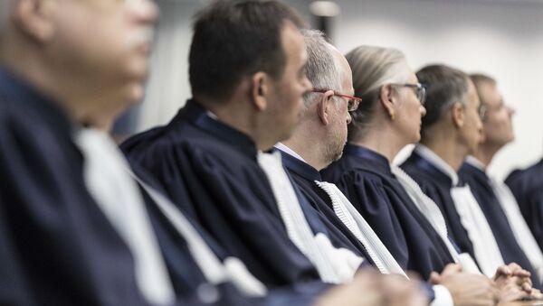 Судьи Европейского суда по правам человека в Старсбурге - Sputnik Армения