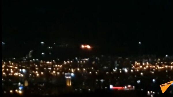 Խոշոր հրդեհ Երևանում - Sputnik Արմենիա