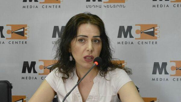 Председатель комиссии по предотвращению коррупции Айкуи Арутюнян - Sputnik Արմենիա