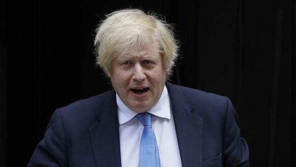 Премьер-министр Великобритании Борис Джонсон (17 июня 2020). Лондон - Sputnik Армения