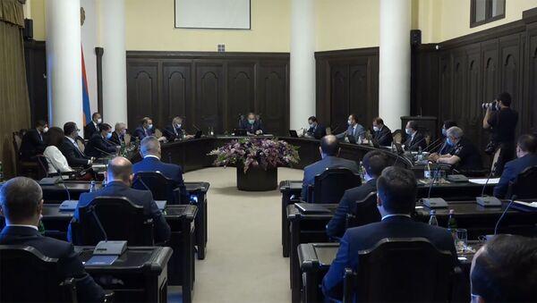 Внеочередное заседание правительства Армении (13 июля 2020). Еревaн - Sputnik Արմենիա
