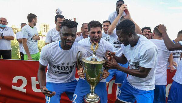 Футбольная команда Арарат-Армения,  обладатель Кубка Армении по футболу (14 июля 2020). Еревaн - Sputnik Армения