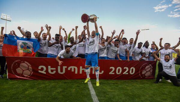 Решающий матч на титул между командами Арарат-Армения- Ноа (14 июля 2020). Еревaн - Sputnik Армения
