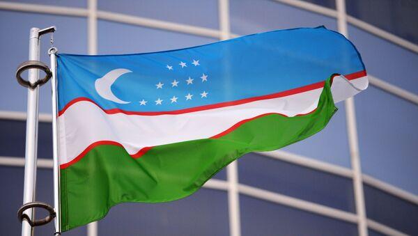 Государственный флаг Узбекистана - Sputnik Արմենիա