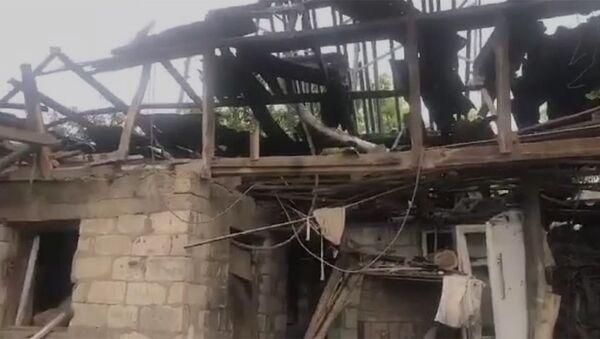 Ադրբեջանական հրետակոծությունից վնասվել է Չինարի գյուղի հացի փուռը և հարակից տունը: - Sputnik Արմենիա