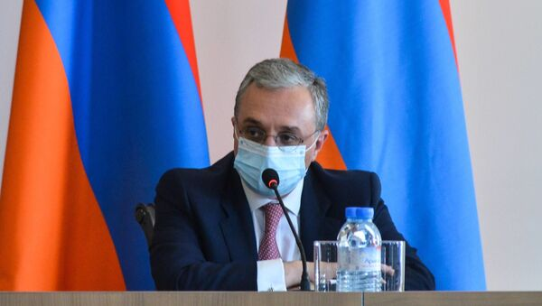 Министр иностранных дел Зограб Мнацаканян принял глав дипломатических представительств, аккредитованных в Армении - Sputnik Армения