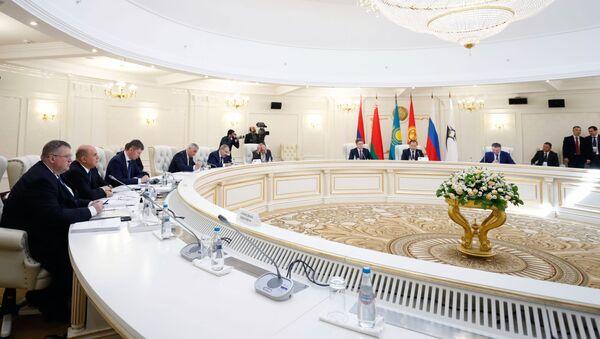 Рабочий визит премьер-министра РФ М. Мишустина в Минск - Sputnik Армения