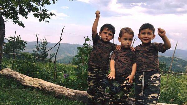 Юные жители Тавуша - Sputnik Армения