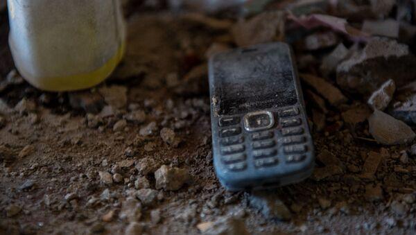 Попавший под обстрел дом Самвела Агасяна и Лиды Чобанян в селе Чинари, Тавуш - Sputnik Արմենիա