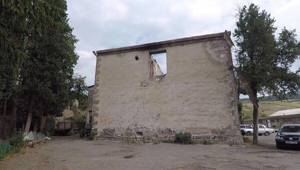 Չինարի գյուղը ռմբակոծությունից հետո. առանց մեկնաբանությունների - Sputnik Արմենիա