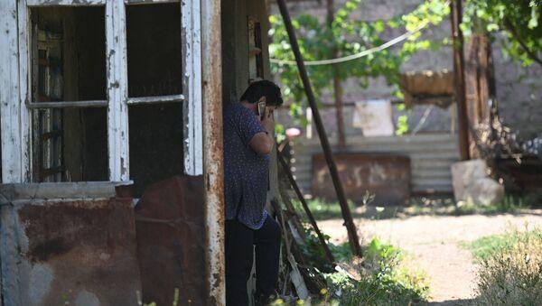 Жительница села Айгепар (18 июля 2020). Тавуш - Sputnik Արմենիա