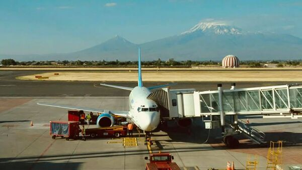 Самолет с аэропорту Звартноц - Sputnik Արմենիա