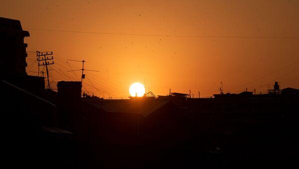 Закат в Ереване - Sputnik Армения