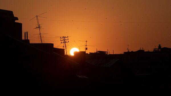 Закат в Ереване - Sputnik Արմենիա