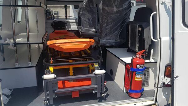 Новые автомобили УАЗ скорой помощи для областей Армении - Sputnik Արմենիա
