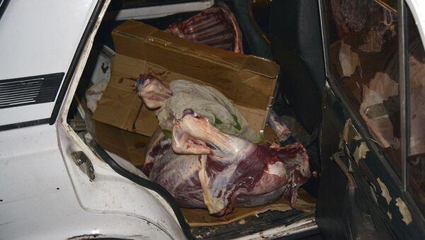 Государственная служба по безопасности продуктов проверила работу мясных киосков (26 июня 2020). Еревaн - Sputnik Արմենիա