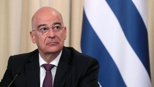 Министр иностранных дел Греции Никос Дендиас - Sputnik Армения