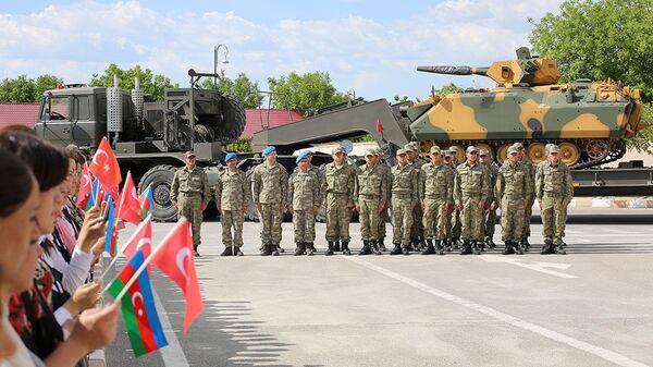 Թուրք–ասդրբեջանական զորավարժություններ - Sputnik Արմենիա