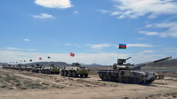 Турецко-азербайджанские совместные тактические учения (май 2017). - Sputnik Արմենիա
