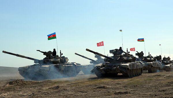 Турецко-азербайджанские совместные тактические учения (май 2017). - Sputnik Армения