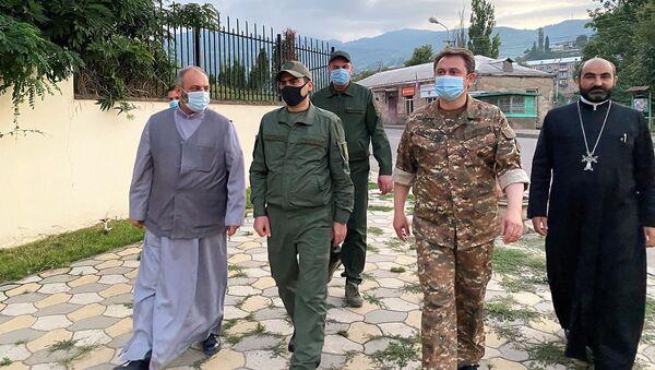 Министр Акоб Аршакян посетил приграничную зону Тавушской области - Sputnik Армения
