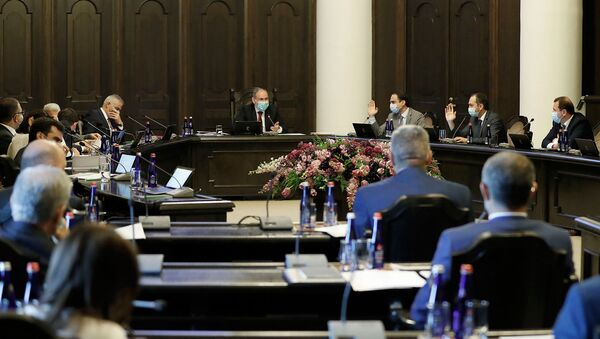 Заседание правительства Армении (30 июля 2020). Еревaн - Sputnik Армения