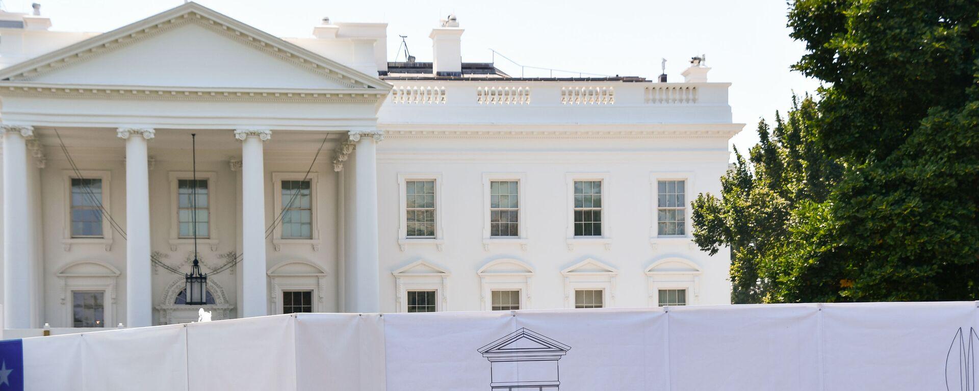Белый дом в Вашингтоне  - Sputnik Армения, 1920, 22.09.2021