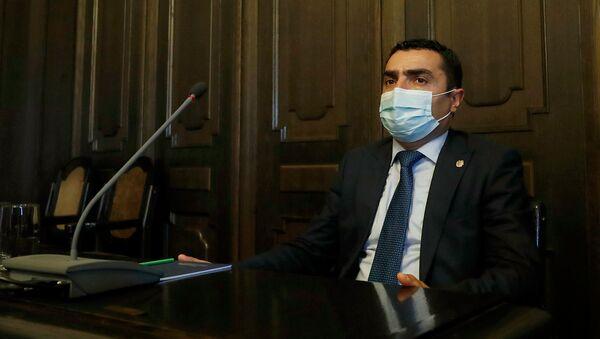 Романос Петросян на заседании правительства Армении (30 июля 2020). Еревaн - Sputnik Արմենիա