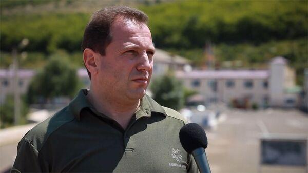 Кадр из видео-интервью министра обороны Армении Давида Тонояна - Sputnik Армения
