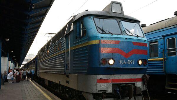 Украина рассматривает возможность прекращения железнодорожного сообщения с Россией - Sputnik Արմենիա