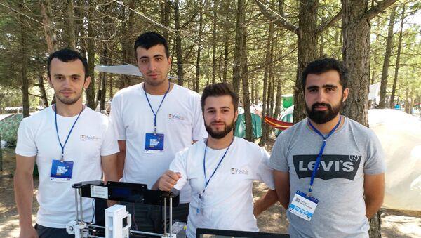 Армянский стартап FoldInk, занимающийся био-печатью хрящевых тканей - Sputnik Армения