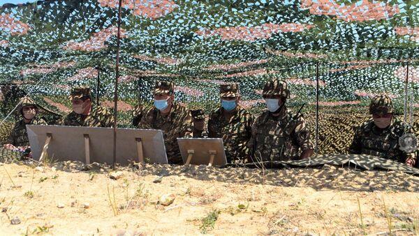 Начальник Генерального штаба Оник Гаспарян посетил воинские части (3 августа 2020). - Sputnik Արմենիա