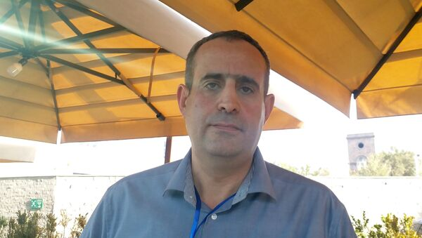 Огсен Габриелян, специалист по биоинформатике в  компании Boeringer Ingelheim (Германия) - Sputnik Армения