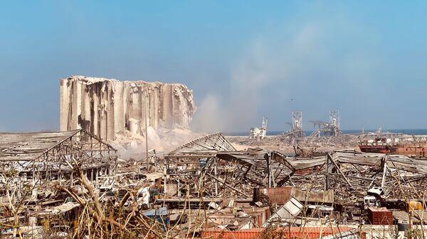 Последствия взрыва в Бейруте (5 августа 2020). - Sputnik Армения