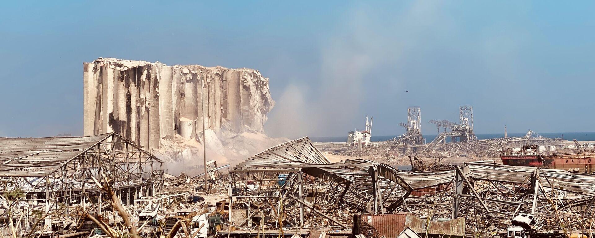 Последствия взрыва в Бейруте (5 августа 2020). - Sputnik Армения, 1920, 24.12.2020