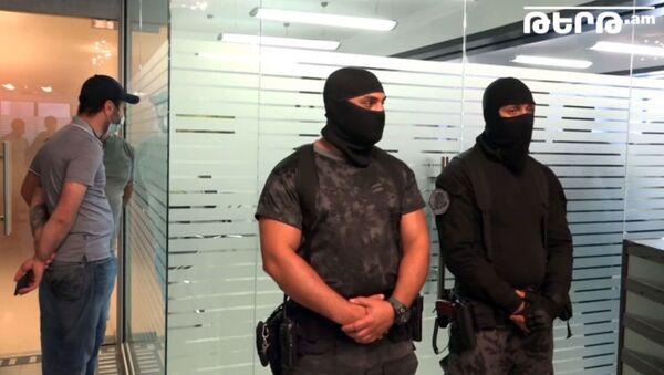 Քրեական ոստիկանության ծառայողները M Group ընկերությունում են - Sputnik Արմենիա