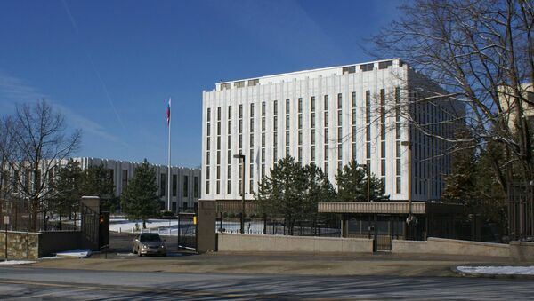 Здание Посольства России в США - Sputnik Արմենիա