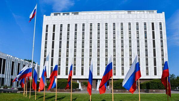 Здание Посольства России в США - Sputnik Армения