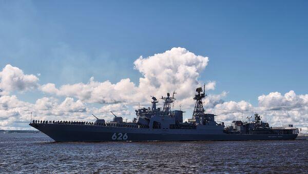 Репетиция парада в честь Дня Военно-морского флота - Sputnik Армения