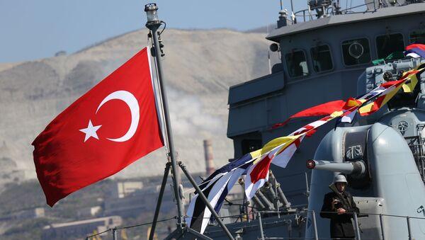 Визит отряда боевых кораблей ВМС Турции в Новороссийск - Sputnik Армения