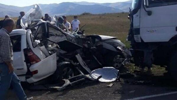 ДТП у села Цхук - Sputnik Армения