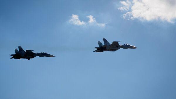 Тренировочные полёты пилотажной группы Соколы России в Краснодарском крае - Sputnik Армения