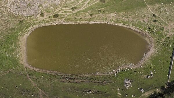 Природное озеро села Овк, Тавуш - Sputnik Армения