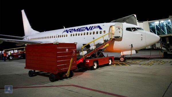 Третий армянский самолет с гуманитарной помощью готовят к отправке в Ливан (11 августа 2020). Еревaн - Sputnik Армения