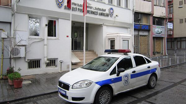 Полицейский автомобиль в Турции - Sputnik Армения