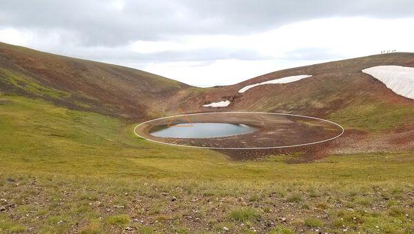 Кратерное озеро Красный гребень - Sputnik Արմենիա