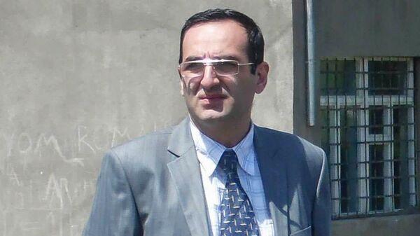 Временно исполняющий обязанности директора Территориальной службы сейсмической защиты Сос Маркарян - Sputnik Արմենիա