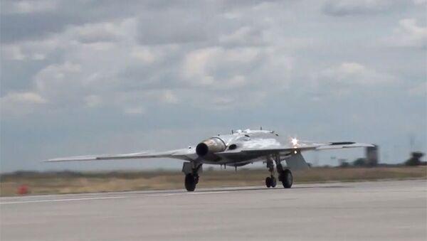 Беспилотный летательный аппарат Охотник - Sputnik Армения